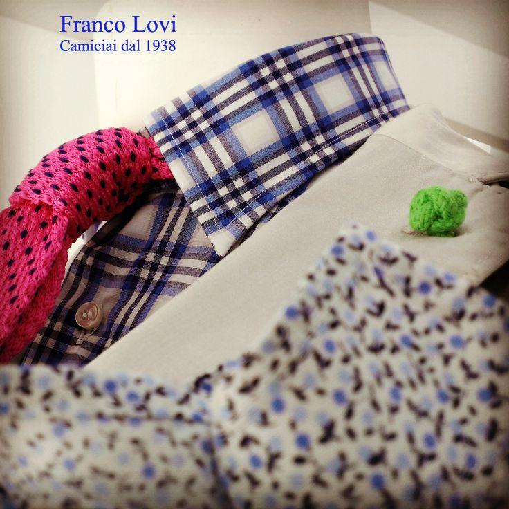 #Franco #Lovi #camicie #camicia #shirt #MadeinItaly #Italia #Italy #CamiciaiDal1938 #Campania #Napoli #Salerno #Fashion #Design #SuMisura #Sartoria #Italiana #pochette #camiceria #Primavera #Estate #2015 #Spring #Summer #tricot #tie