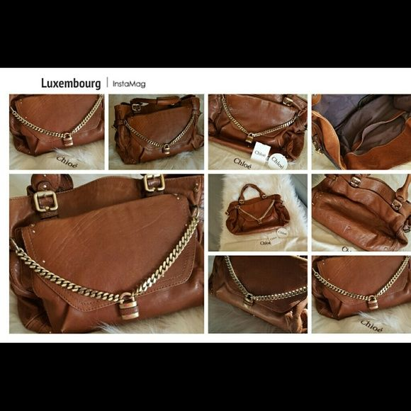 DEALS OF THE MONTH! Authentic CHLOE handbag Don't misd out on this monumenal authentic Chloe handbag !! Price reduced!! Stunning large authentic Chloe leather handbag. In great condition! A classic beauty that will make any outfit shine. Really looks so beautifully made and rich in person! This is The very lowest I will go girls Thanks! :) Abercrombie & Fitch Bags