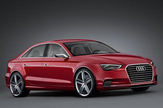 #Audi A3 To Be Launched at 2014 Auto Expo - The new #A3 is likely to become the cheapest Audi car on sale in #India.