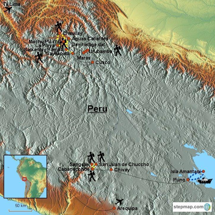 Aktiv rundrejse i Peru med kultur, natur, trekking og aktive oplevelser - Topas Travel
