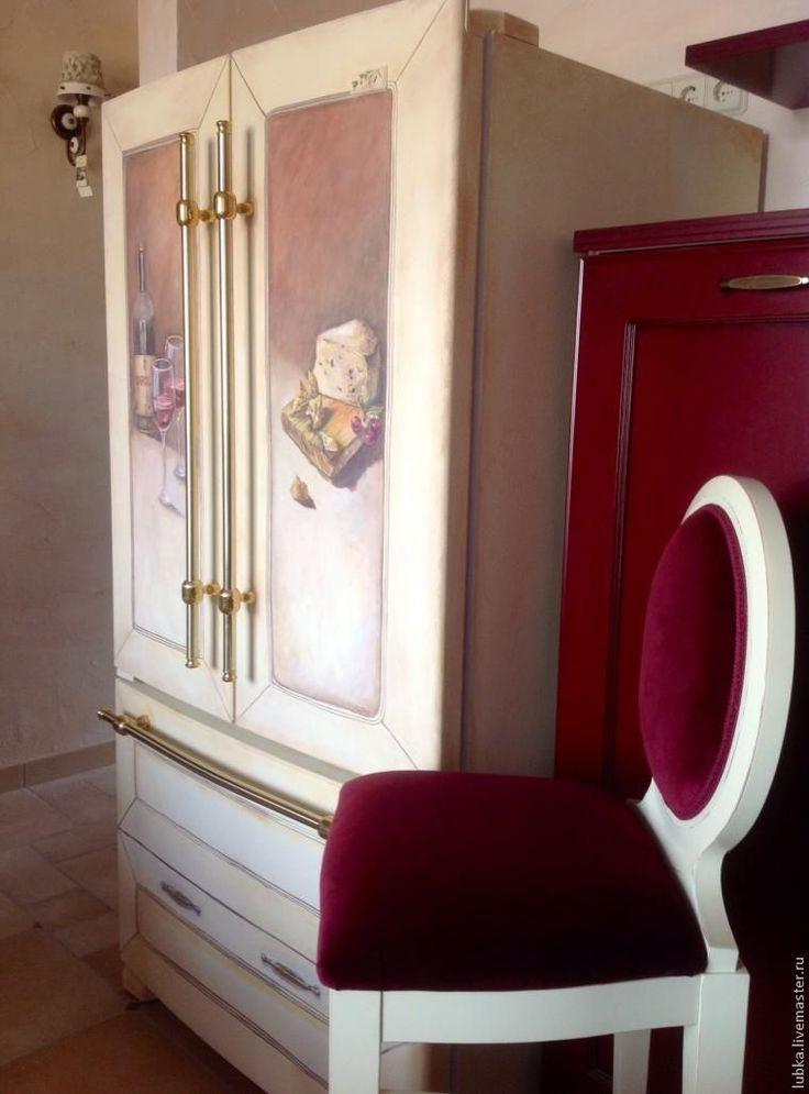 Роспись и декор холодильника в стиле прованс. Обсуждение на LiveInternet - Российский Сервис Онлайн-Дневников