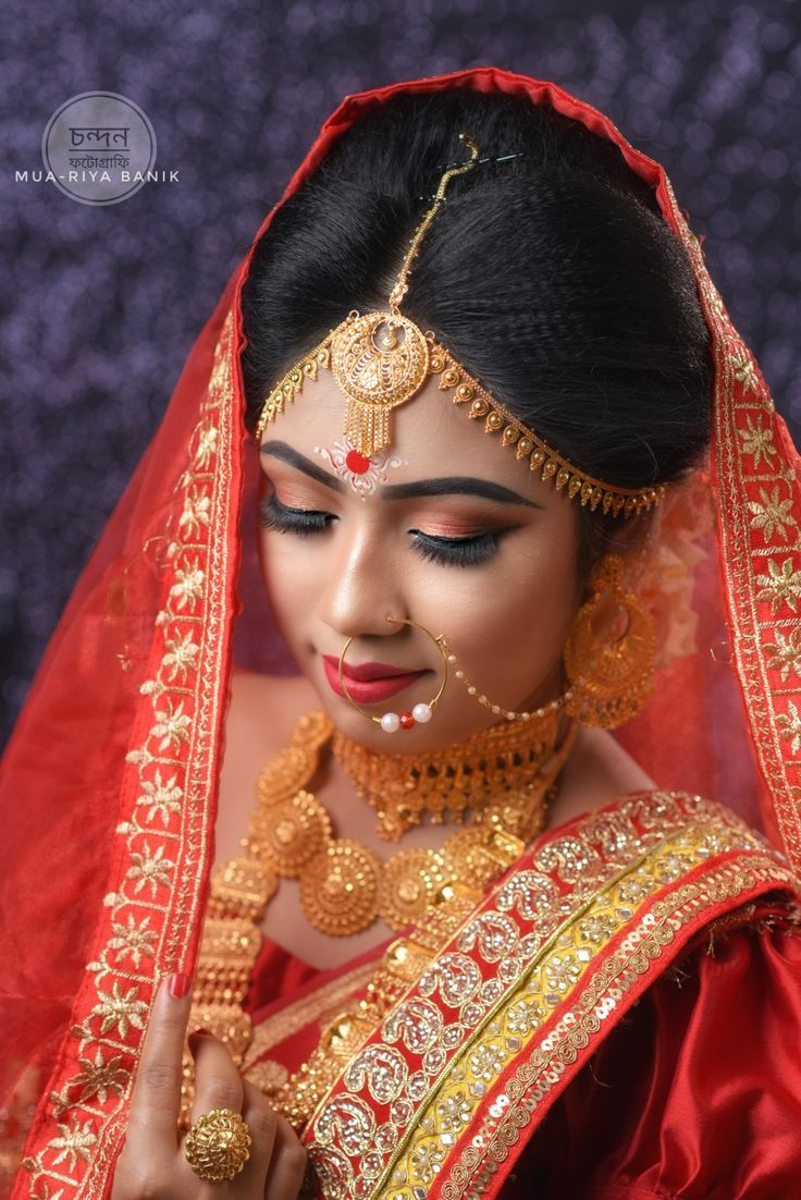 Pin by Riya Banik on Bengali bridal makeup in 2020