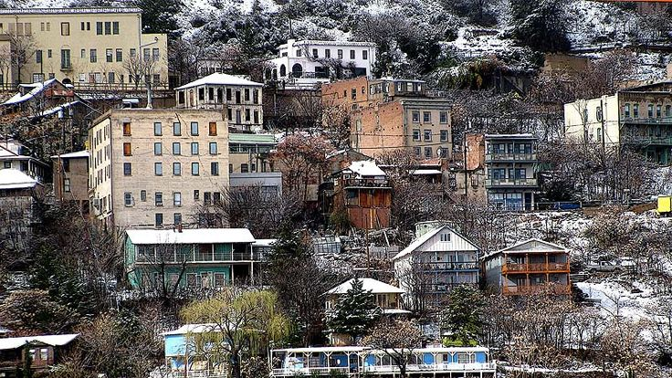 Jerome, Arizona--the most vertical city in the U.S.---old copper mining town--a real ghost town-- U.S.Google Image