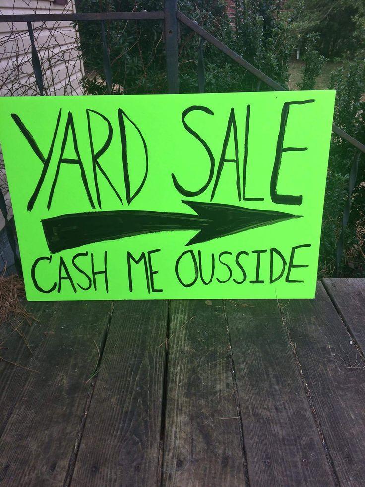 best 25  garage sale signs ideas on pinterest