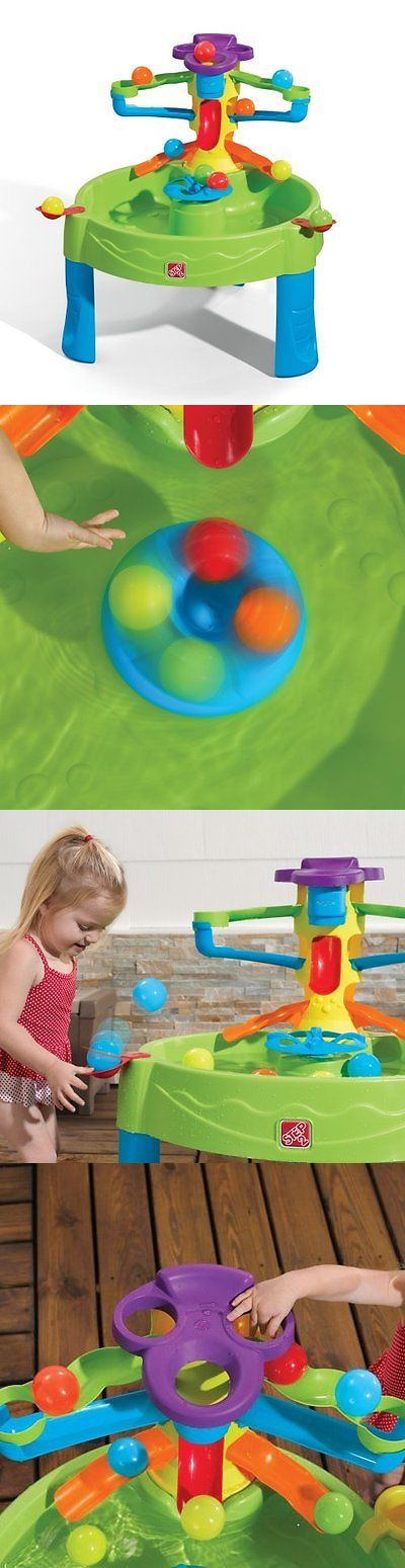 Step 2 52344: Water Table For Kids Toddlers Busy Ball Center Spinner Play Set Indoor Backyard -> BUY IT NOW ONLY: $45.11 on eBay!