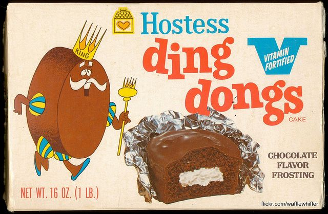 Hostess Ding Dongs - 1970..Loved these :)