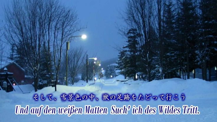"""Franz Peter Schubert """"Winterreise - Gute Nacht"""" Sung by Tonio(VOCALOID 3)"""