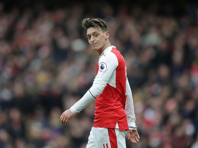 Arsenal star Mesut Ozil: 'I am ice cold in front of goal'