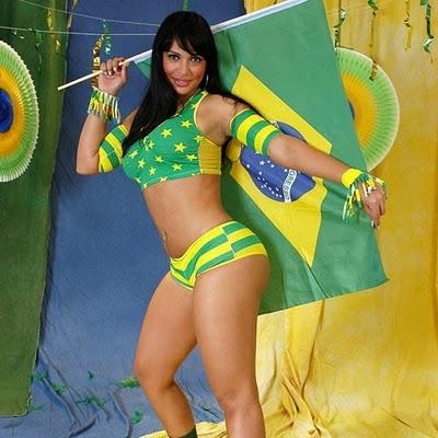 brazilian sexy football women