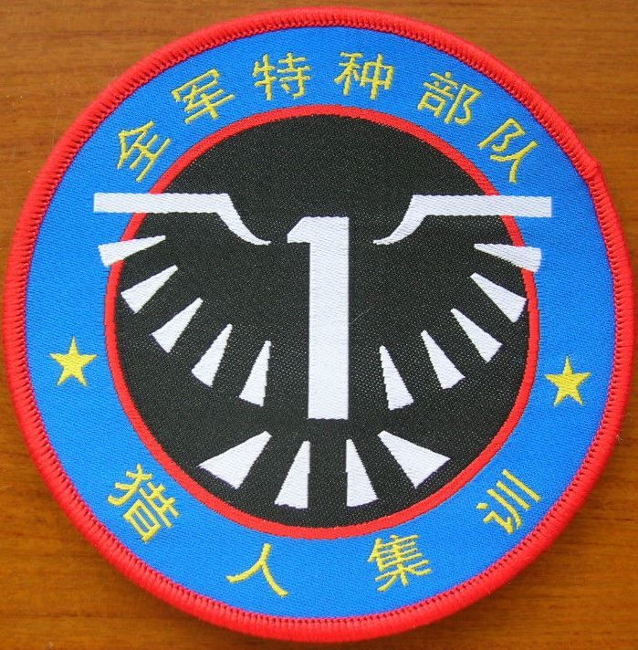 China PLA Entire Army Special Forces Pothunter Sniper Training Patch