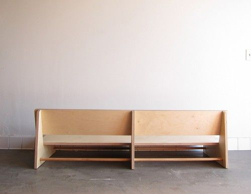 WAKA WAKA LOW RIDER COUCH (latest iteration of the low rider chair) Baltic birch plywood Private commission