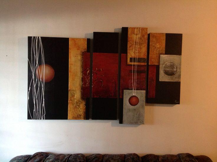 Abstracto sala