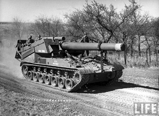 U.S. T92, self-propelled 240mm gun.