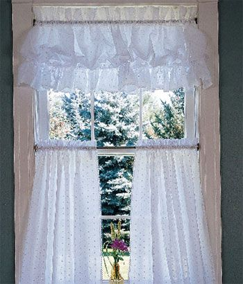 1000+ images about Country curtains on Pinterest | Lace, Curtain ...