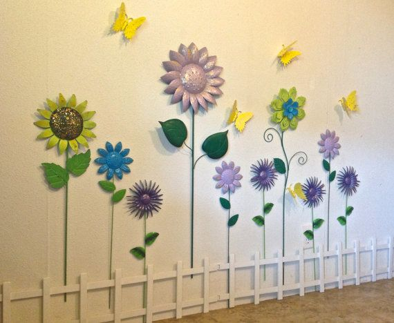 Great Metal Flower Wall Decor Images - Wall Art Design ...