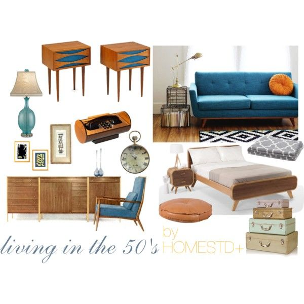 """Living in the 50's"" by rubygrosse on Polyvore"