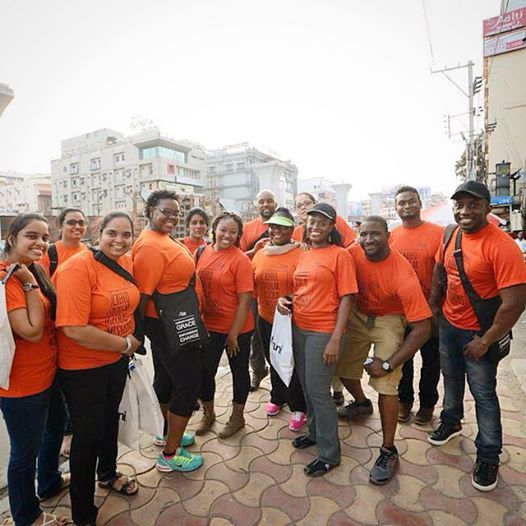 """@cdgmissions """"Our present #CDGM team in #India is comprised of 7 church locations. Represented are CDM India, CDM South Africa, WCCI College Park, WCCNY, WCC Norcross, WCC Houston and WCC Macon. They have all come together to share and demonstrate the unfailing love of God."""