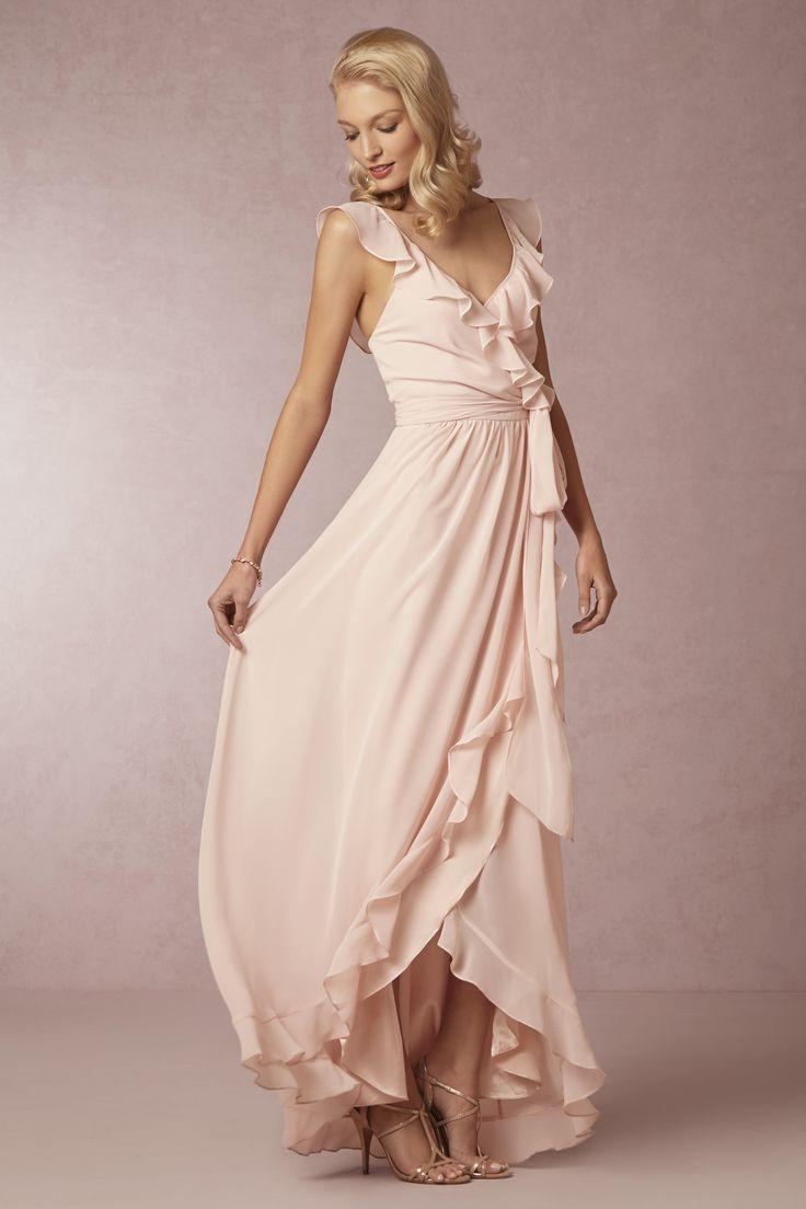 Poppy Bridesmaids Dress in blush pink from @BHLDN | #BHLDNspring15