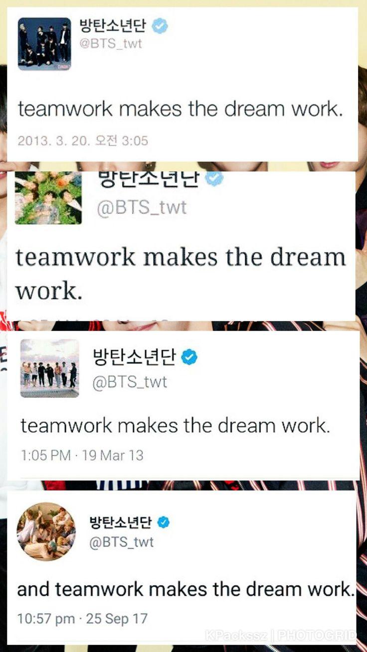 TEAMWORK MAKES THE DREAM WORK!! ᕦ(ò_óˇ)ᕤ