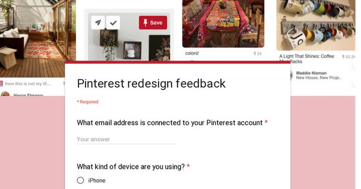 If you have been effected by the new changes and hate them as most people do please send Pinterest your feedback! It only takes a second. Thank you so much!