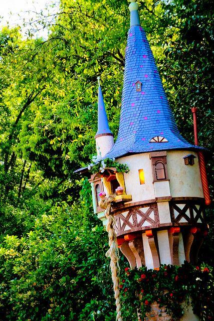 Rapunzel Tower New Fantasyland Magic Kingdom