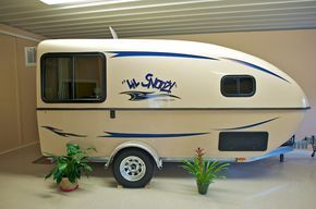 mini camper | Lil Snoozy small travel trailer
