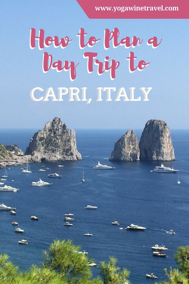 Yogawinetravel.com:  How to Plan a Day Trip to Capri, Italy  ✈✈✈ Don't miss your chance to win a Free Roundtrip Ticket to Naples, Italy from anywhere in the world **GIVEAWAY** ✈✈✈ https://thedecisionmoment.com/free-roundtrip-tickets-to-europe-italy-naples/