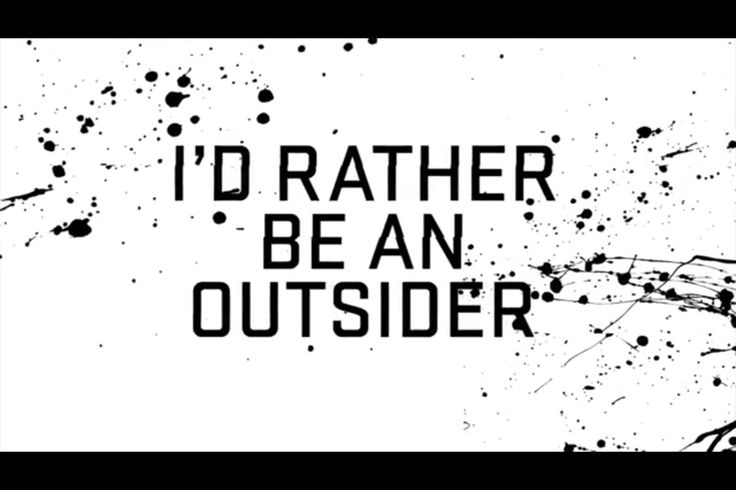 Lecrae: Exclude me for being a true me--I'd rather be an outsider. All unashamed and unafraid to live out who I'm supposed to be.