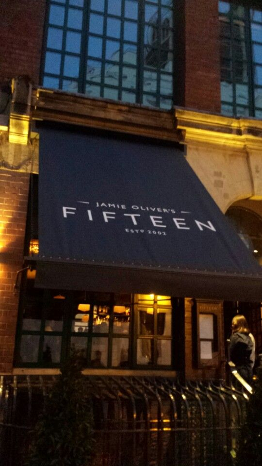 Jamie Oliver's Fifteen. Worst night out ever! Service was truely horrible, horrible, horrible. Stay away!
