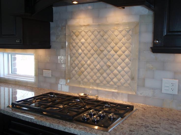 Espresso Cabinets: What Countertops, Backsplash?   Kitchens Forum    GardenWeb OMG Loves This Back Splash