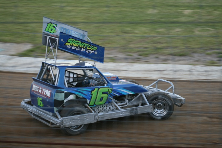 """Steve Jude racing the Ex Shane Penn """"Silver Bullet"""" Tri-Rail"""