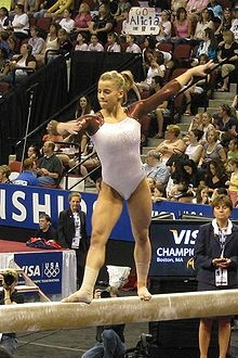 Alicia Sacramone- She was the team captain in Beijing, 2008 and brought home the team silver. A power gymnast, her event strengths include vault, beam and floor. Do you think she'll represent the US in London 2012?