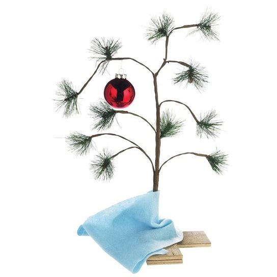 Product Works 87770 Peanuts Charlie Brown Christmas Tree, 24 H