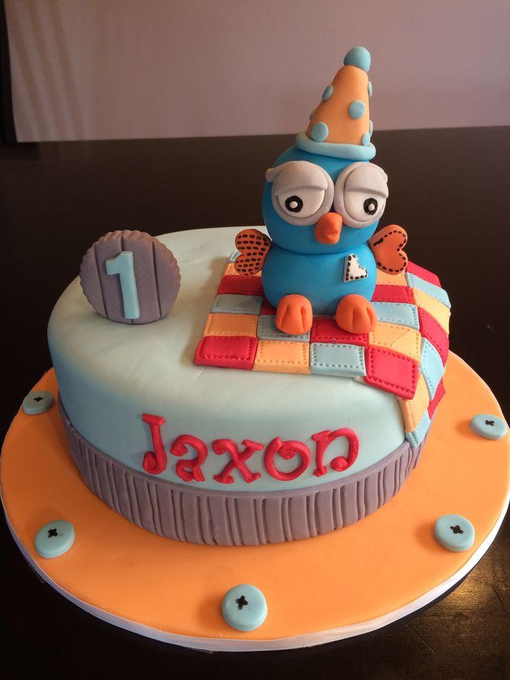 Giggle and Hoot boys birthday cake!