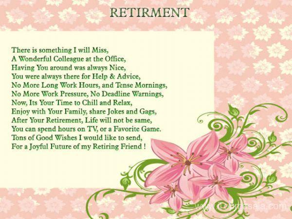 Humorous retirement poems retirement greetings at work greetings