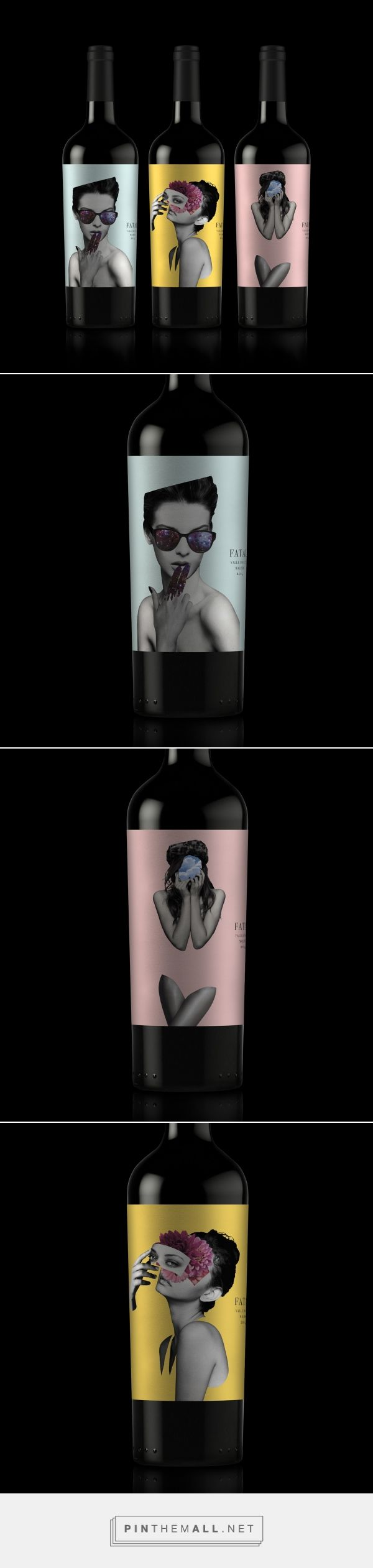 Fatal Wine - Packaging of the World - Creative Package Design Gallery - http://www.packagingoftheworld.com/2017/09/fatal-wine.html