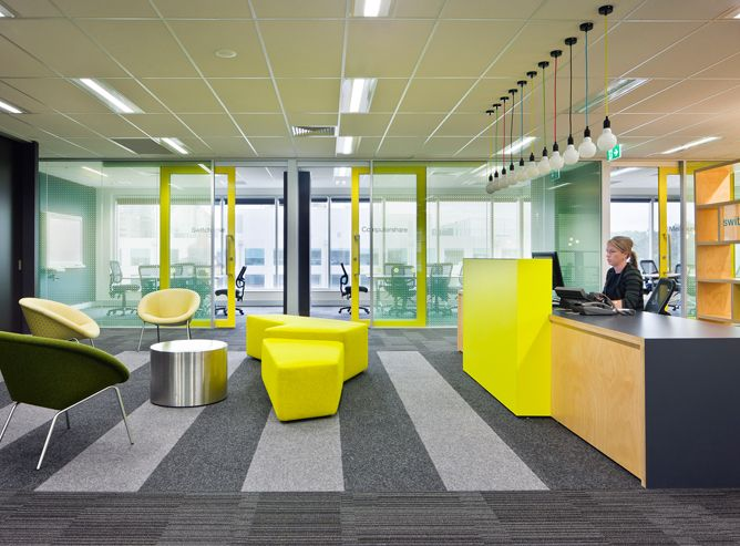 Serviceworks bafco bafcointeriors visit for Cool office reception