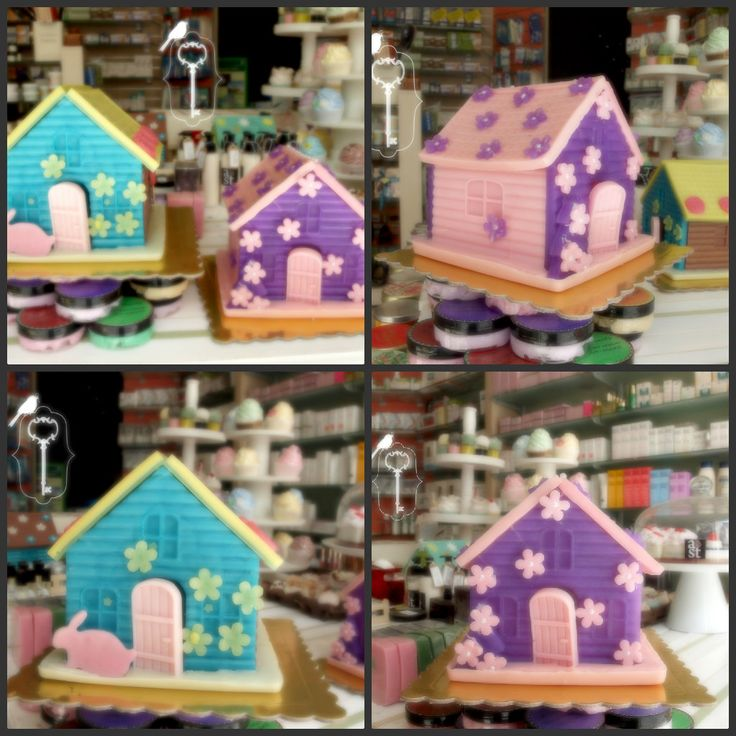SPRING SOAP HOUSES
