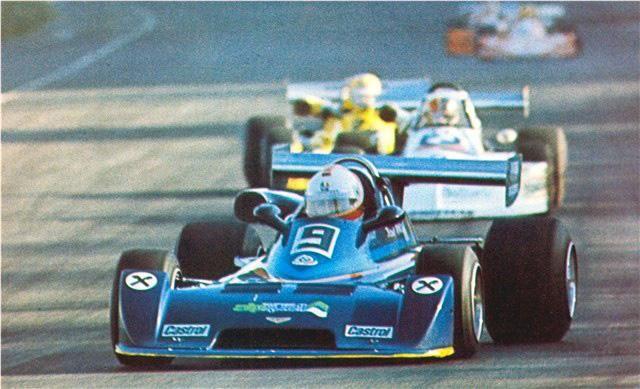 Hans Binder - Chevron B35 BMW - Chevron Racing Team - XIV Gran Premio del Mediterraneo (Autodromo di Pergusa) - 1976 European Championship for F2 Drivers, round 9