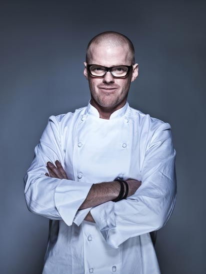 Heston Blumenthal - The Fat Duck Chef - Michelin stars