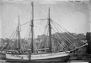 Fram, Ships of the Antarctic explorers