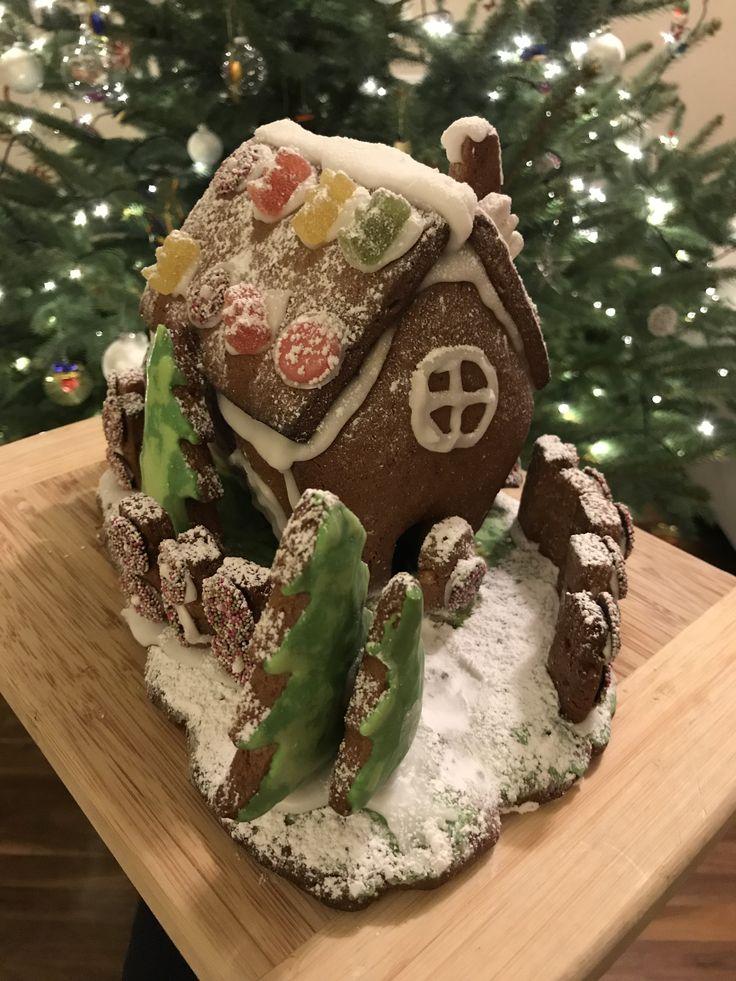 Lebkuchenhaus DIY