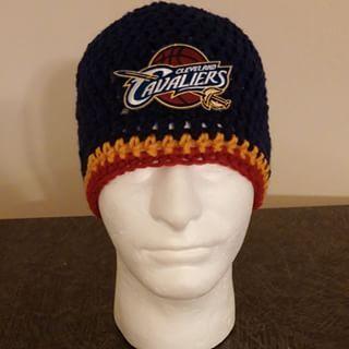 crochet cleveland cavaliers hats - Google Search