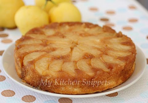 My Kitchen Snippets: Asian Pear Upside Down Cake