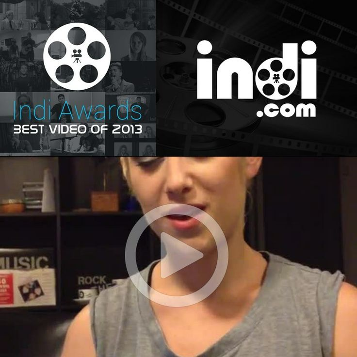 Repin to vote for Hana-Li Pendery as the Indi.com best video of 2013. The video with the most likes, tweets and pins wins $1,000. Vote for as many videos as you want!