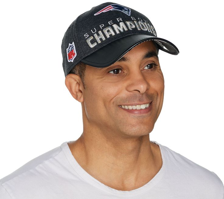 $33.36 - NFL Patriots Super Bowl Cap - Cap off a season to remember with this Super Bowl locker room hat. Never forget the New England Patriot's victory with this decked-out design, completed with Super Bowl Champions embroidered across the front and an embossed Super Bowl LI logo on the bill.