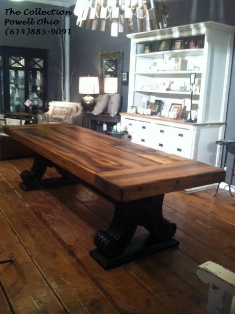 Custom Farm Table Handmade In Powell Ohio Table