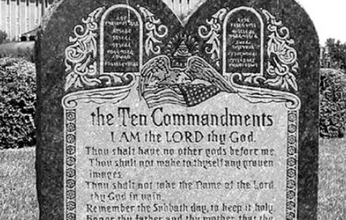 Family Under Threats After Ten Commandments Settlement