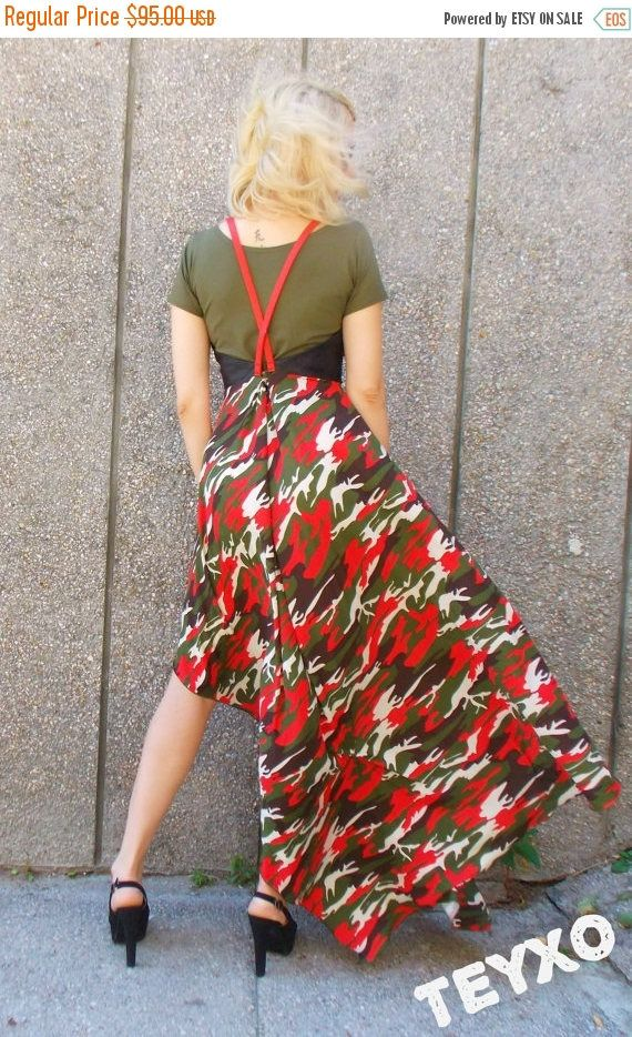 Looking for a gift? Start here 👉  GREEN SALE 20% OFF Camo Maxi Dress / Camouflage Dress with Eco Leather Corset / Camo Summer Dress Tdk130 https://www.etsy.com/listing/238442628/green-sale-20-off-camo-maxi-dress?utm_campaign=crowdfire&utm_content=crowdfire&utm_medium=social&utm_source=pinterest
