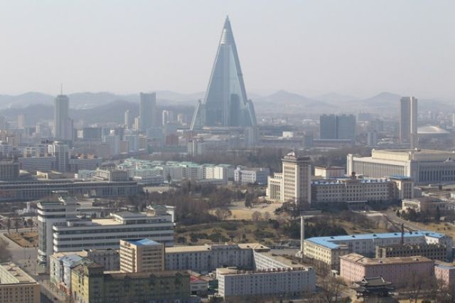 (Getty) The World's Ugliest Hotels?: Ryugyong Hotel, North Korea is nicknamed the 'Hotel of Doom' and has been dubbed by many as 'The Worst Building in the World' - need we say more? The pyramid-like structure dominates the skyline of Pyongyang at 1,080ft and is currently the 47th tallest building in the world. Construction on the building began in 1987 but it was halted in 1992 due to North Korea's economic crisis. It resumed in 2008 and opened in the summer of 2013.